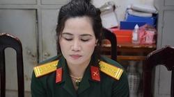 Người đàn bà 'sống ảo' mặc trang phục giả Đại tá Quân đội khoe trên mạng xã hội bị tạm giữ để điều tra