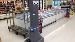 Siêu thị Mỹ dùng robot để cạnh tranh các đối thủ bán hàng online