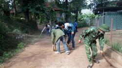 Tuổi trẻ Yên Châu chung sức xây dựng nông thôn mới