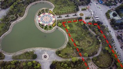 Hà Nội: Tạm dừng nghiên cứu dự án bãi xe ngầm tại công viên Cầu Giấy