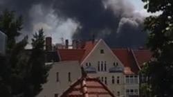 Cháy Trung tâm thương mại Đồng Xuân của người Việt ở Đức