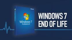 Microsoft chính thức khai tử Windows 7