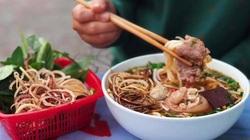 Khác biệt của món bún bò ở Huế và Hà Nội