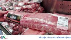 100% lô hàng thịt heo nhập khẩu phải đợi lấy mẫu kiểm tra theo quy định