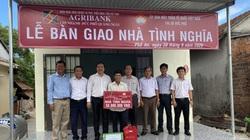 Quảng Ngãi: Agribank Chi nhánh Đức Phổ hỗ trợ xây nhà tình nghĩa