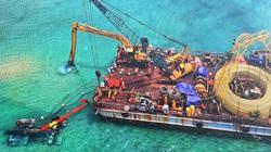 Chính thức cấp điện bằng cáp ngầm xuyên biển cho dân đảo Cù Lao Xanh