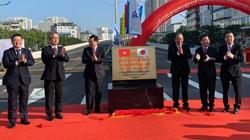 Chính thức thông xe đường vành đai 3 đoạn Mai Dịch - Nam Thăng Long