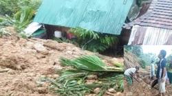 Quảng Ngãi: Núi lở, nhà sập làm người bị thương, di dời khẩn cấp 36 hộ dân
