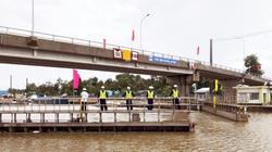 Cống âu thuyền to bự vừa đưa vào vận hành ở tỉnh Bạc Liêu có công dụng gì?