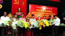 Khen thưởng những người hùng tham gia cứu người trên tàu chìm ở Quảng Trị
