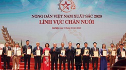 Lễ tôn vinh và trao danh hiệu 63 nông dân Việt Nam xuất sắc 2020