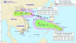 Ngày mai, 14/10, bão số 7 vào vịnh Bắc Bộ, một áp thấp nhiệt đới lại hình thành trên biển Đông