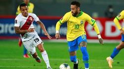 Neymar lập hat-trick, Brazil ngược dòng thắng Peru