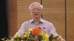 Tổng Bí thư, Chủ tịch nước nhắc những việc Hà Nội chậm trễ như đường sắt trên cao, nhà 8B Lê Trực