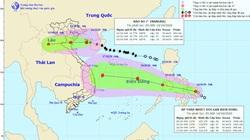 Khẩn: Bão số 7 đang tiến vào đất liền các tỉnh Thái Bình - Nghệ An, áp thấp nhiệt đới có khả năng mạnh thêm