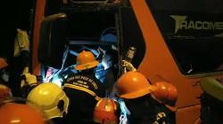 Tai nạn 2 người chết, hàng chục người bị thương ở hầm Hải Vân: Xe khách vượt ẩu