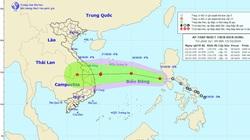 Ngày mai, 16/10, áp thấp nhiệt đới có thể mạnh lên thành bão, thẳng tiến vào Trung Bộ