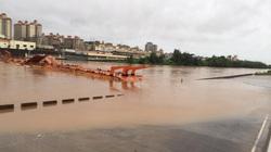 Quảng Ninh: Nước lũ dâng cao, một cửa khẩu ngừng hoạt động
