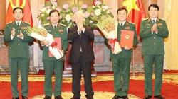 Chủ tịch nước thăng quân hàm Thượng tướng cho Thứ trưởng và Phó Tổng tham mưu trưởng QĐND Việt Nam