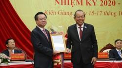 Trao Quyết định Bí thư Tỉnh ủy Kiên Giang làm Thứ trưởng Bộ Xây dựng