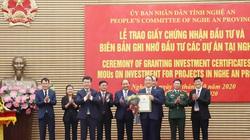 Trao chứng nhận đầu tư 2 dự án 400 triệu USD, khai mạc phiên trù bị Đại hội Đại biểu Đảng bộ tỉnh Nghệ An