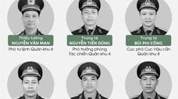 Chân dung 13 cán bộ, chiến sĩ hy sinh ở Rào Trăng