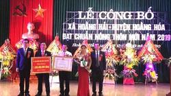 Thanh Hóa: Xã cuối cùng của huyện Hoằng Hóa đạt chuẩn nông thôn mới