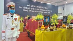 Lễ viếng, truy điệu 13 liệt sĩ hy sinh ở trạm 67 khi cứu nạn Rào Trăng 3