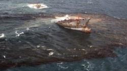 TT-Huế: Yêu cầu có phương án phòng tránh sau vụ tàu gãy đôi gây hiện tượng tràn dầu