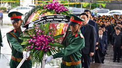 Những hình ảnh xúc động tại lễ viếng liệt sỹ đại tá Hoàng Mai Vui tại Thanh Hóa