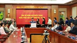 Ban Kinh tế Trung ương ủng hộ đồng bào Miền Trung khắc phục hậu quả thiên tai, lũ lụt