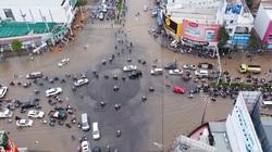 Đường phố Cần Thơ ngập nặng ngày đầu tuần
