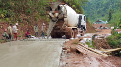Mường Nhé tập trung phát triển giao thông nông thôn