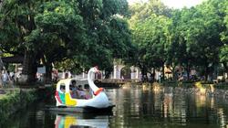 """Nét đẹp """"công viên làng"""" ở Bình Vọng"""