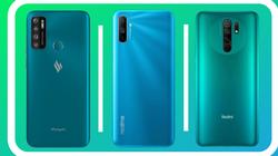 Top điện thoại dưới 4 triệu đồng pin khủng: Vsmart, Xiaomi dẫn đầu