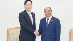 """Thái tử Samsung: """"Mỗi lần đến Việt Nam tôi lại thấy có thêm tòa nhà mới, con đường mới"""""""