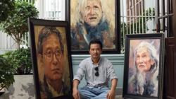"""Triển lãm """"Vọng"""" của Trần Thế Vĩnh và 51 chân dung văn nghệ sĩ nổi tiếng"""