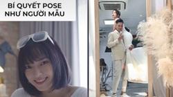 """Tiktok trend: Trend """"Đội vợ lên đầu"""" và bí quyết sống ảo của Châu Bùi"""