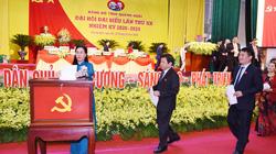 Đại hội Đảng bộ tỉnh Quảng Ngãi lần thứ XX: Ban chấp hành Đảng bộ giảm 5 người