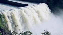 Mực nước hồ Kẻ Gỗ đã giảm dưới mực nước dâng bình thường