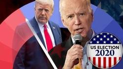 Bầu cử Mỹ 2020: Nhà cái tiết lộ sốc về số tiền cá cược cho Trump, Biden