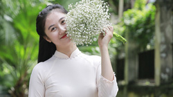 """Người dân """"sống ảo"""" trên con đường lãng mạn nhất Hà Nội"""