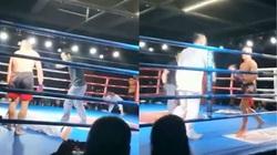 Clip: Thách đấu MMA, võ sư Trung Quốc bị đánh sấp mặt sau... 2 giây