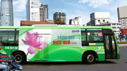 TP.HCM  sẽ ngừng quảng cáo trên xe buýt
