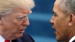 """Phản ứng bất ngờ của Trump khi Obama """"xuất trận"""" tiếp sức cho Biden"""