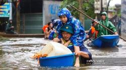 Thông tin cán bộ Quảng Trị chia nhau lương khô cứu trợ là sai sự thật