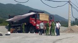 Nam tài xế gục chết bất ngờ trên cabin xe ben