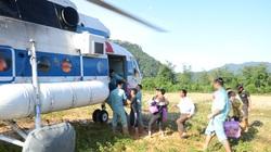 Tiếp tế hơn 2 tấn hàng cứu trợ cho người dân vùng lũ Quảng Trị