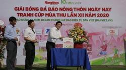 Khai mạc Giải bóng đá NTNN/Dân Việt 2020: Nối vòng tay lớn hướng về miền Trung