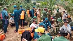 Tìm thấy toàn bộ 4 thi thể vụ sạt lở núi vùi lán phu trầm Quảng Bình